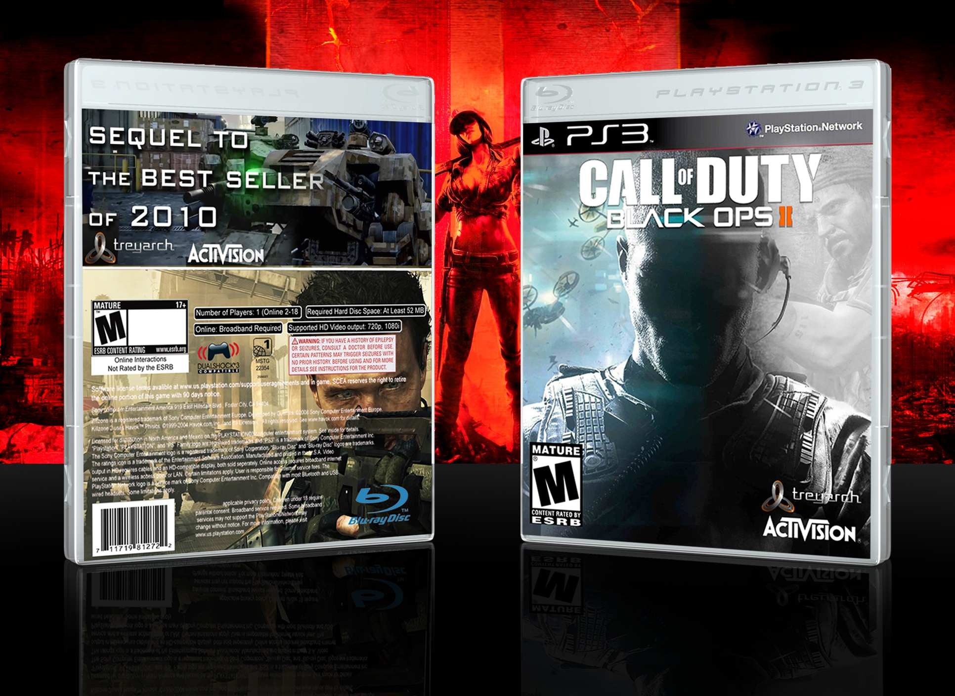 Call of Duty: Black Ops II box cover
