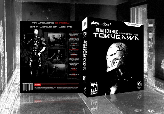 Metal Gear Solid: Tokugawa box art cover