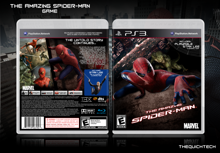 PlayStation 3 » The Amazing Spider-Man: The Game Box Cover ? ?