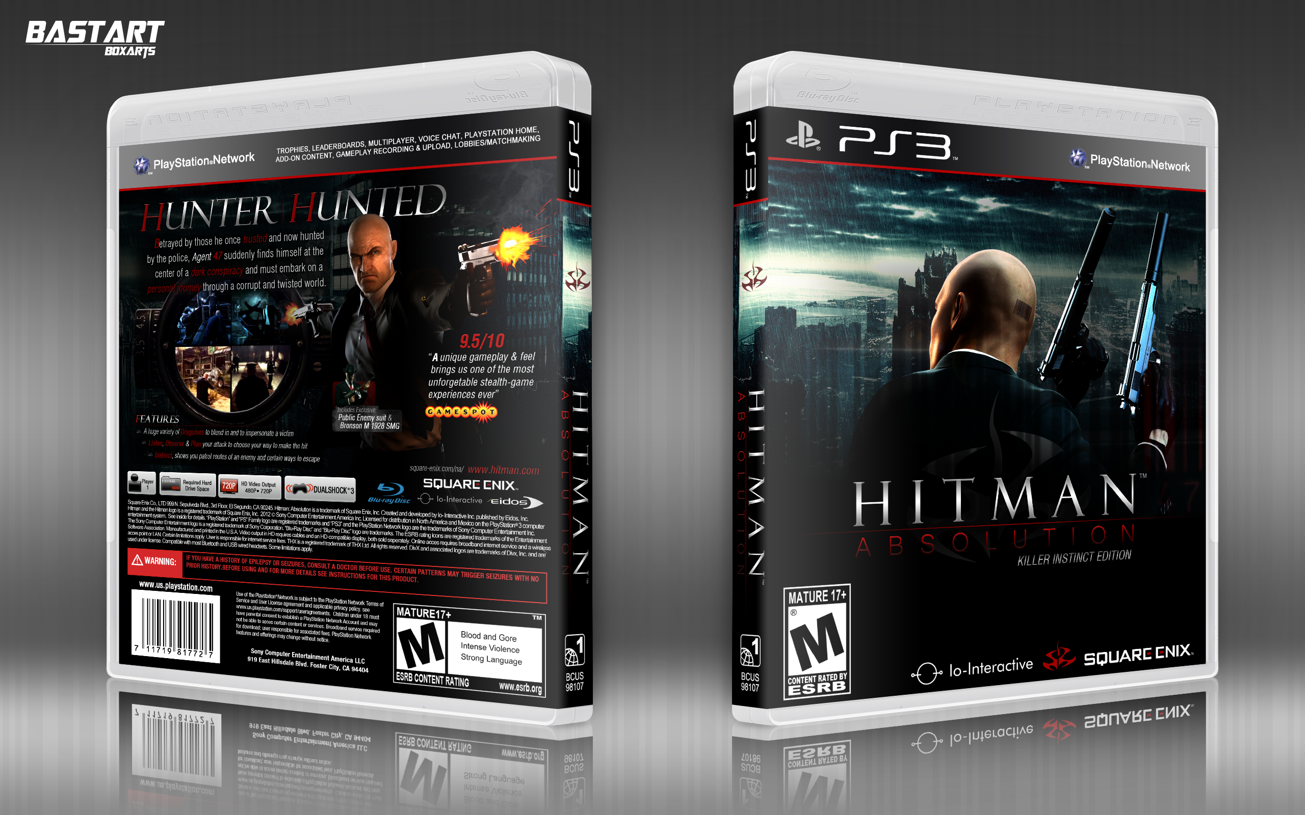 Hitman Absolution: Killer Instinct Edition box cover