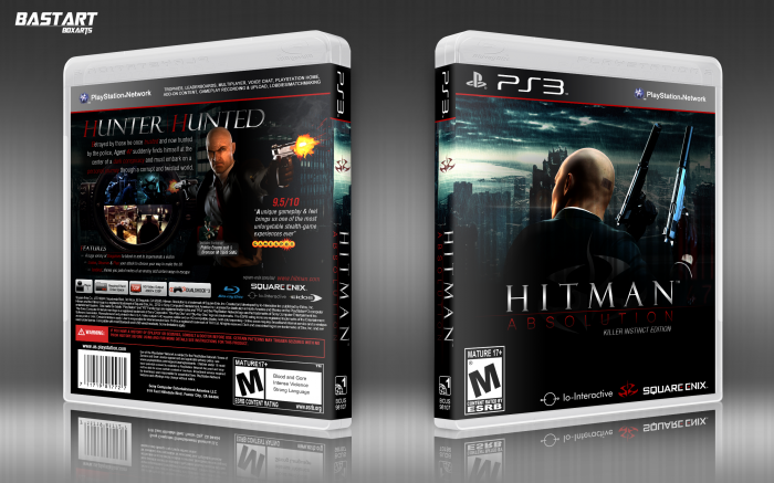 Hitman Absolution: Killer Instinct Edition box art cover