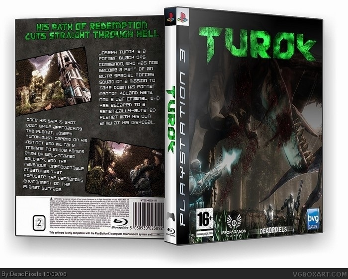 Turok box art cover