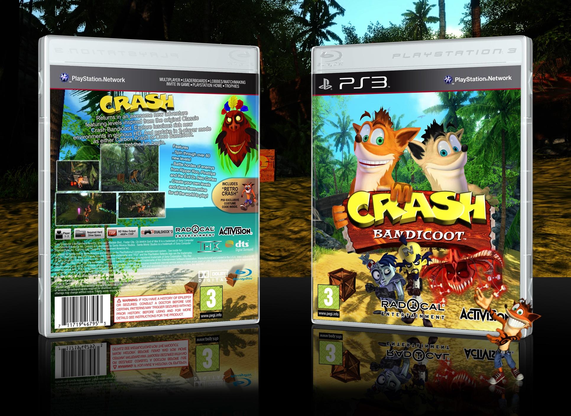 Crash Bandicoot Box Cover Comments