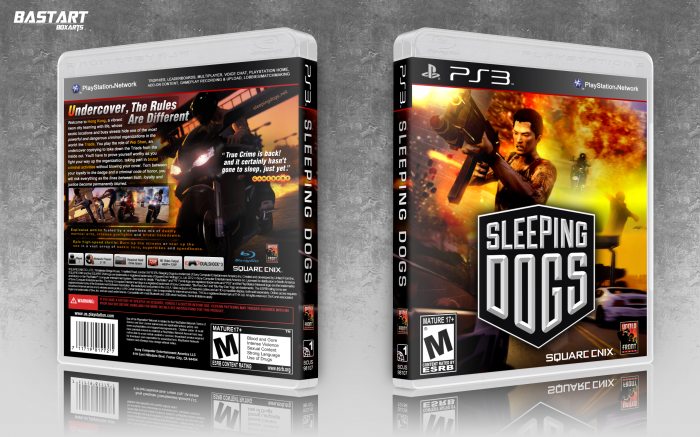 Sleeping Dogs PlayStation 3 Box Art Cover by Bastart