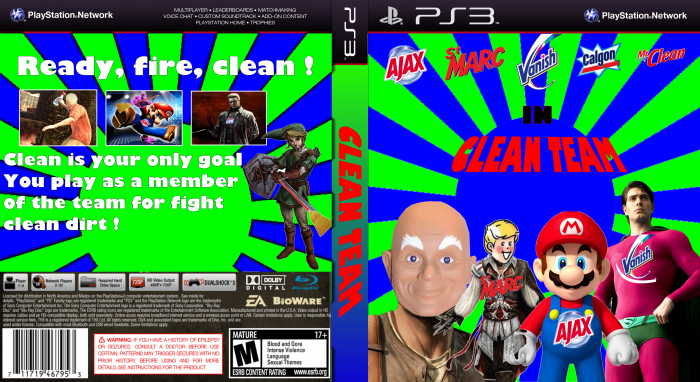 Clean Team box art cover