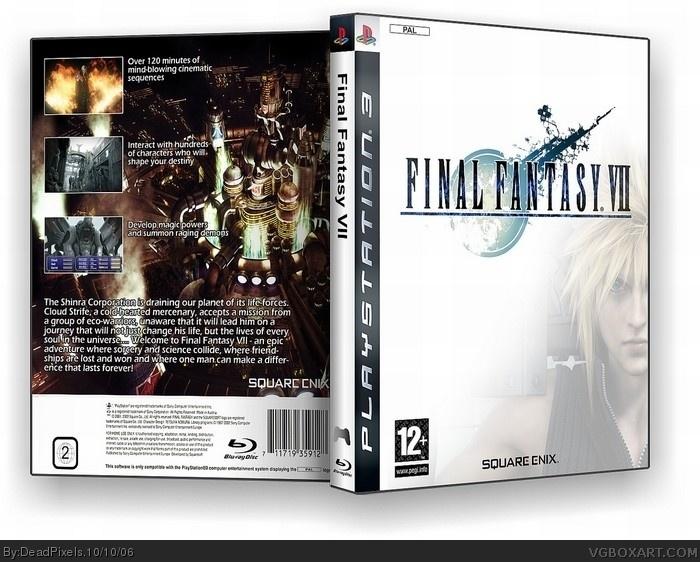 PlayStation 3 » Final Fantasy VII Box Cover