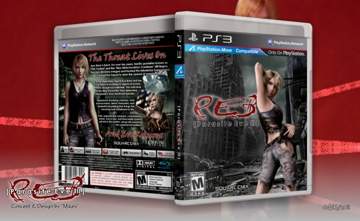 Parasite Eve III box art cover