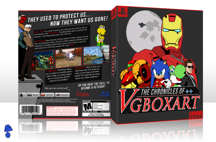 The Chronicles of Vgboxart box art cover