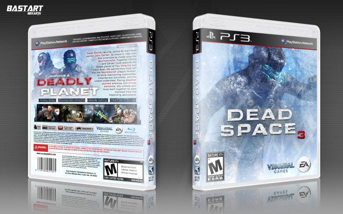 PlayStation 3 » Dead Space 3 Box Cover