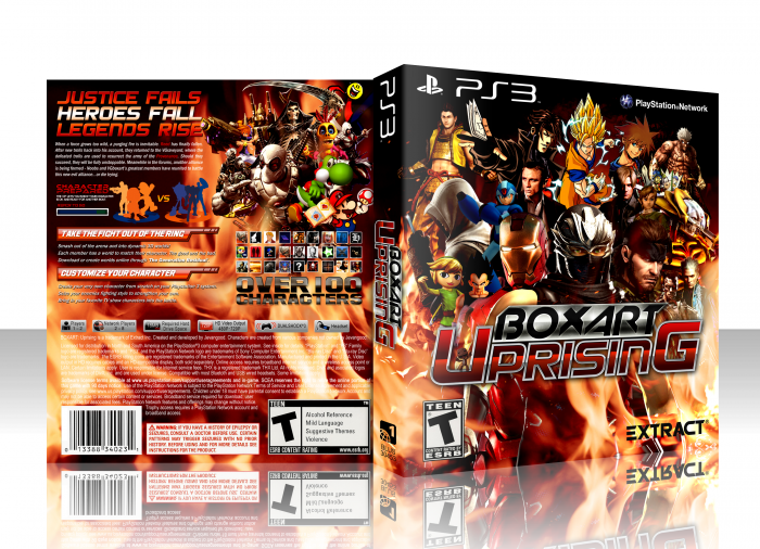 Boxart Uprising box art cover