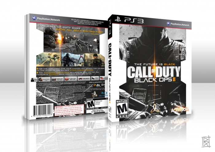 PlayStation 3 » Call of Duty: Black Ops 2 Box Cover