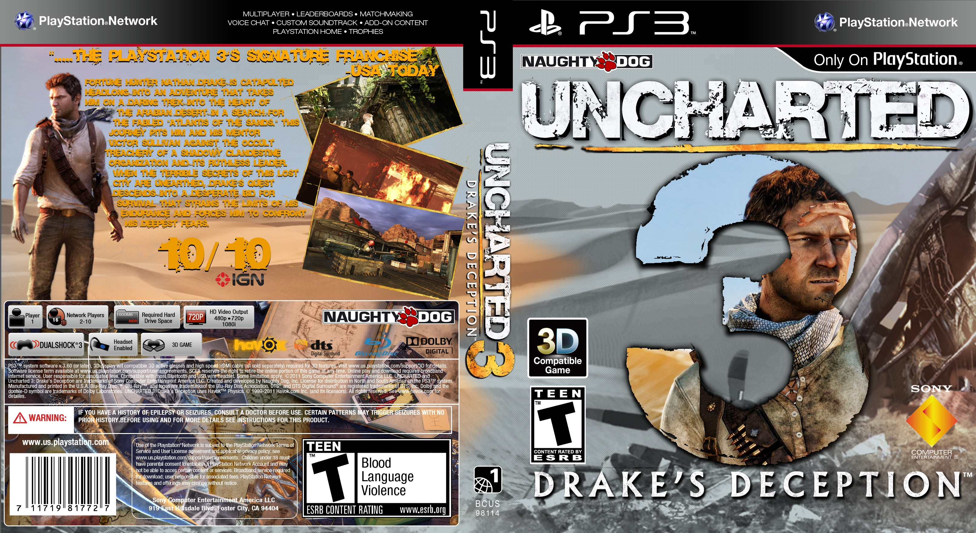 how to play uncharted 3