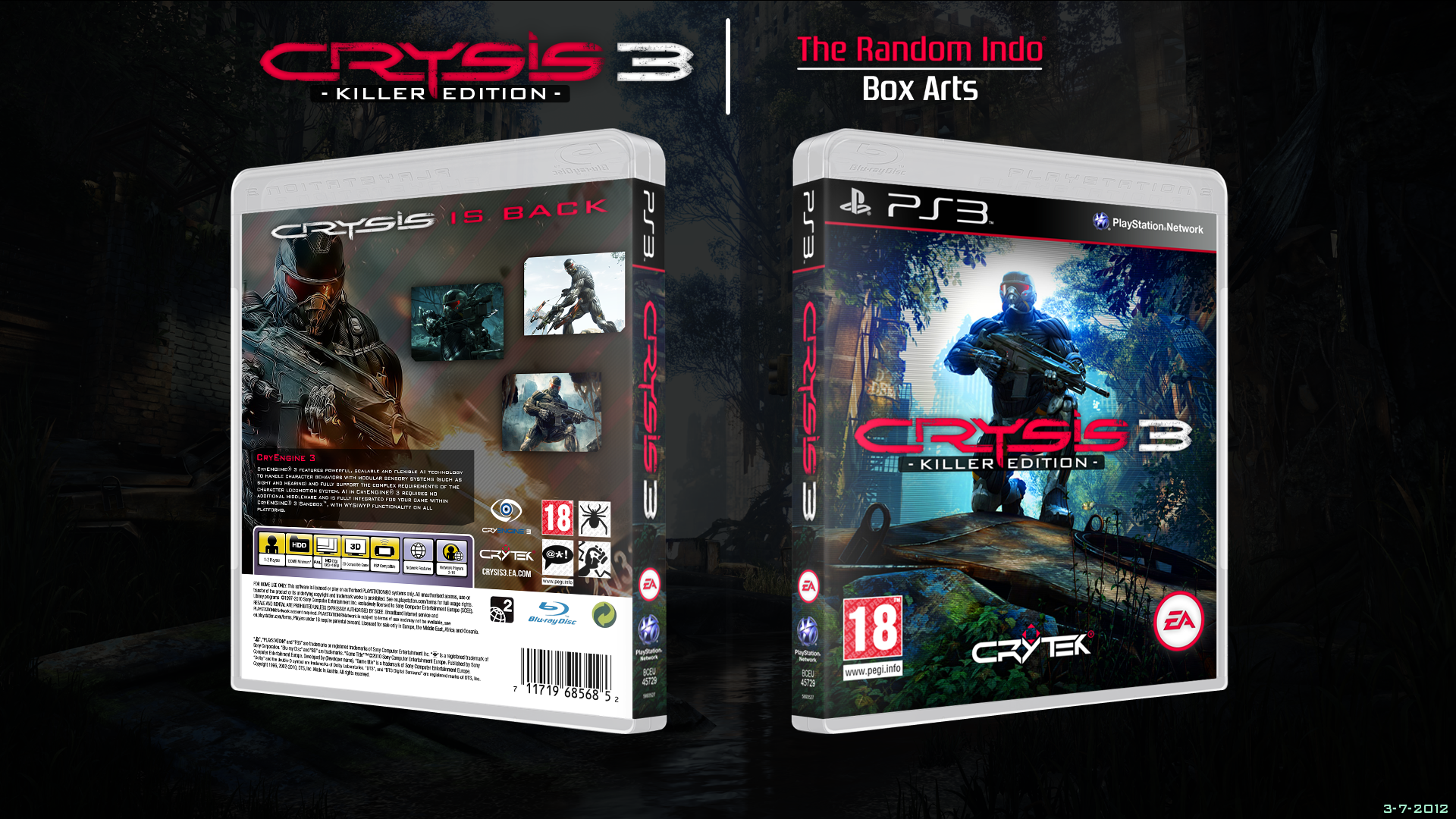 Crysis 3 - Killer Edition box cover