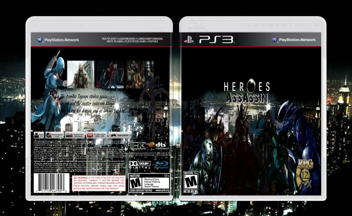 Heroes Assassins box art cover