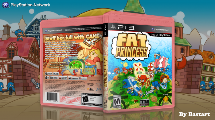 Fat Princess box art cover