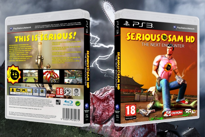 Serious Sam HD: Next Encounter box art cover