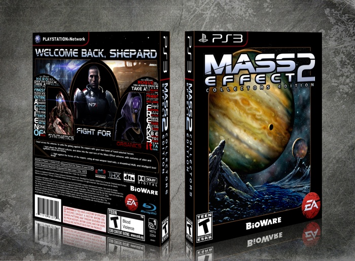 Mass Effect 2 Collector's Edition box art cover