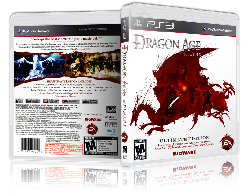 Dragon age: origins - ultimate edition (sony playstation 3, 2010.