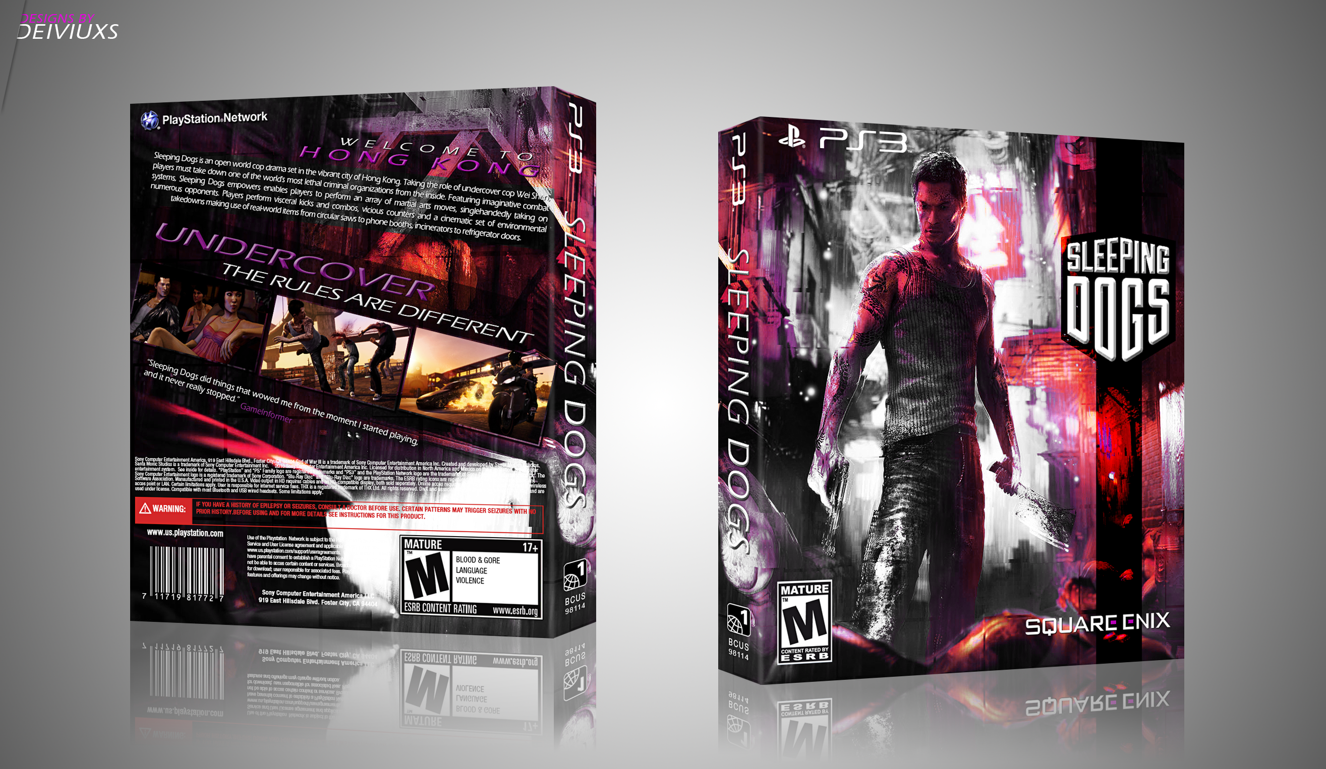 Sleeping Dogs box cover