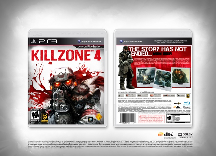Killzone™ 4 box art cover