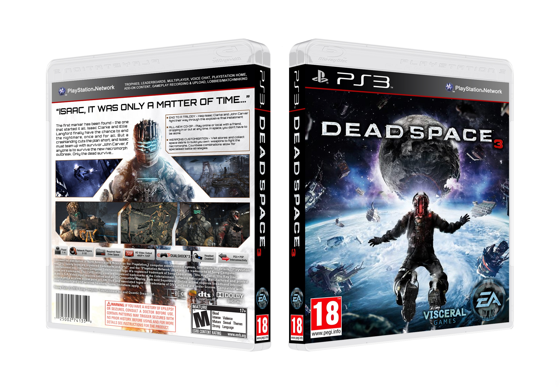 Viewing Full Size Dead Space 3 Box Cover