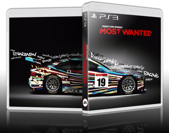 Need For Speed: Most Wanted PlayStation 3 Box Art Cover by przemekszulim