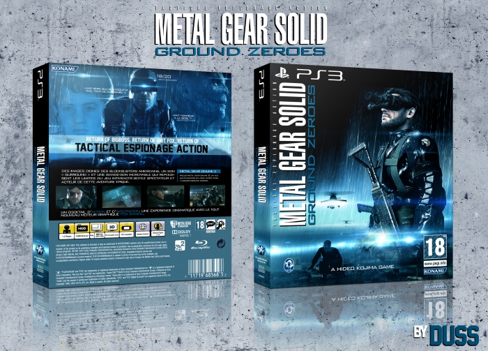 Metal Gear Solid: Ground Zeroes box art cover