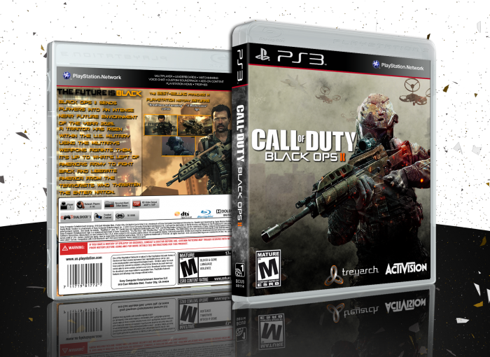 Call of Duty: Black Ops II PlayStation 3 Box Art Cover by
