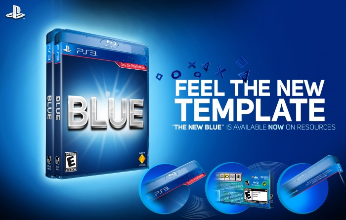 The New Blue Template box art cover