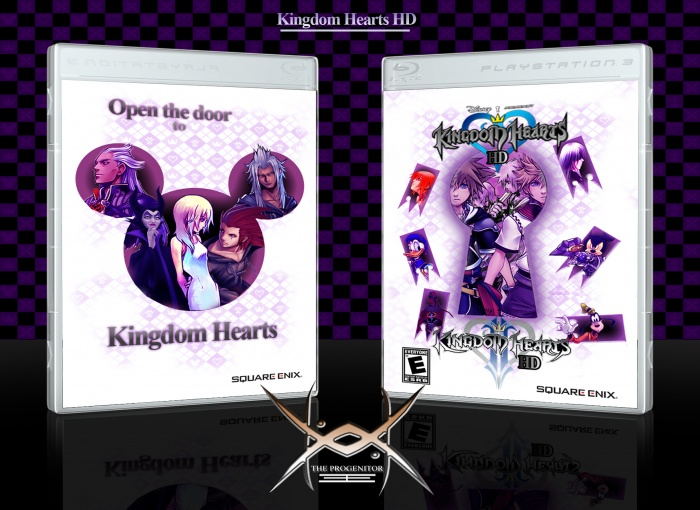 Kingdom Hearts Hd Collection Playstation 3 Box Art Cover