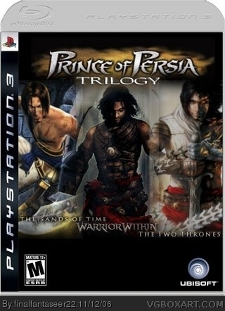 Prince of Persia Trilogy box cover