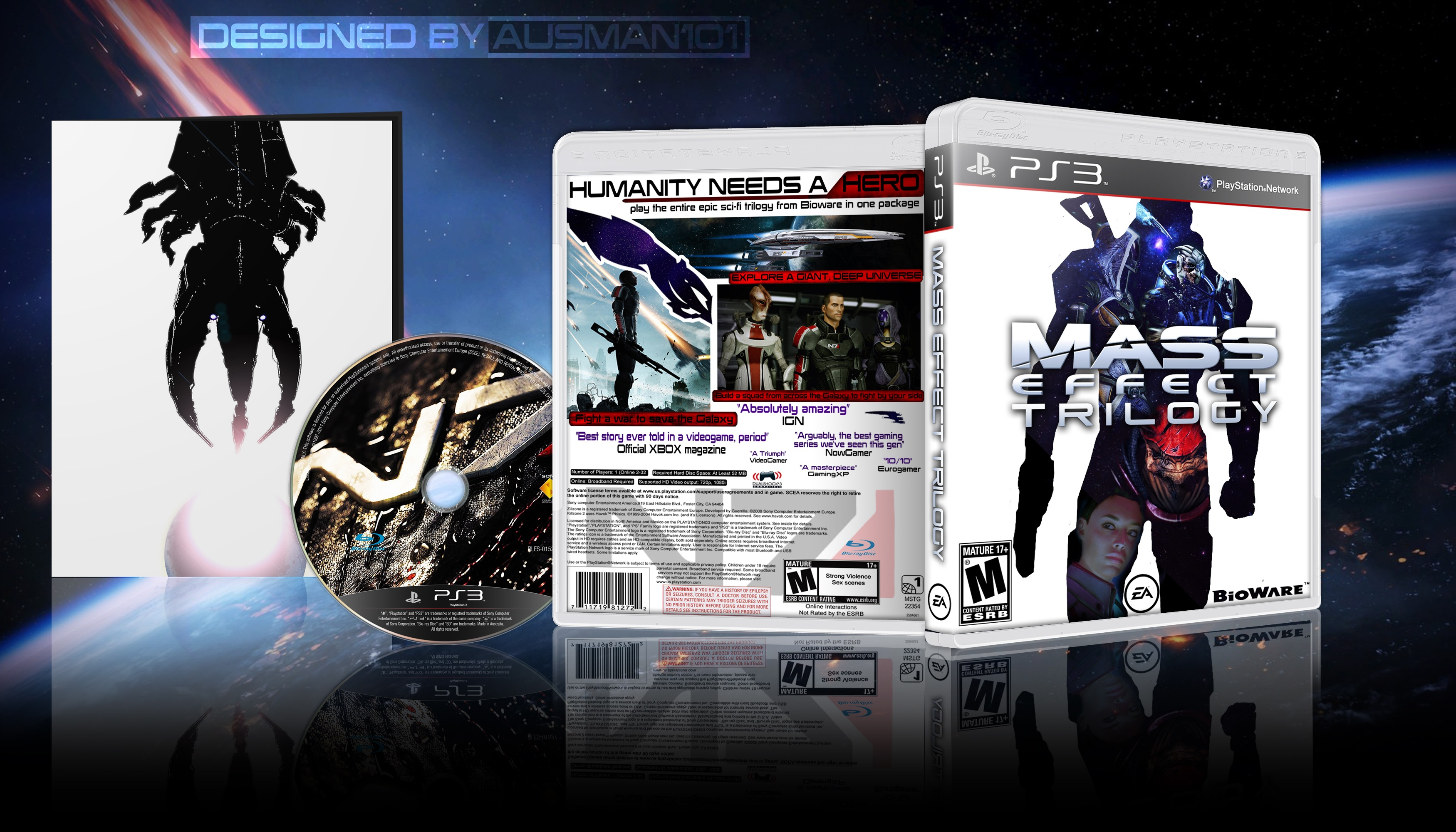 Mass Effect Trilogy box cover