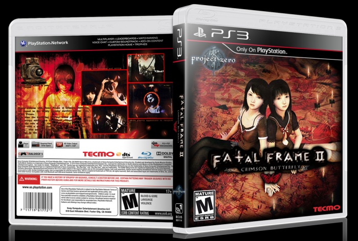 Fatal Frame 2 box art cover