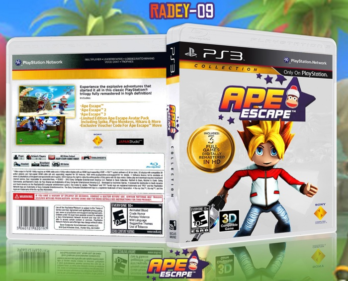 Ape Escape Collection box art cover
