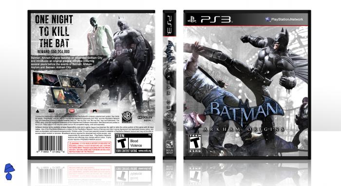 Batman Arkham Origins Cover of Batman Arkham Origins