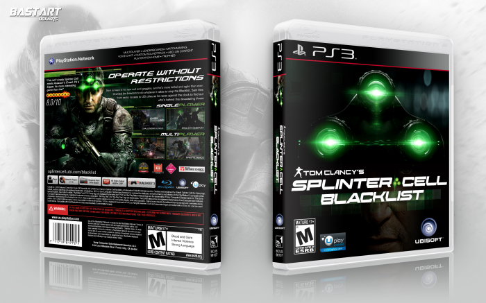 Tom Clancy's Splinter Cell: Blacklist box art cover