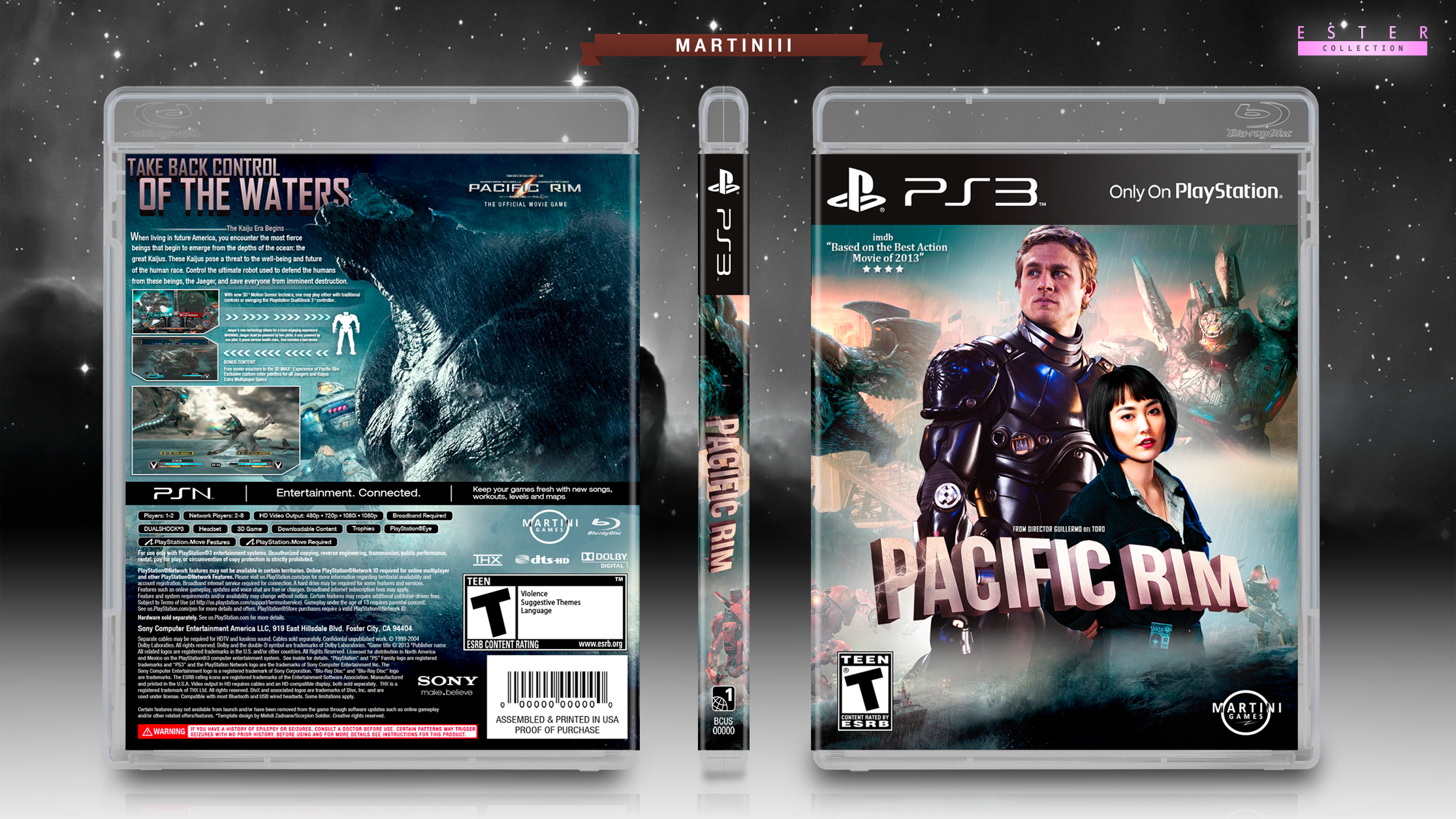 Pacific Rim Game Ps3