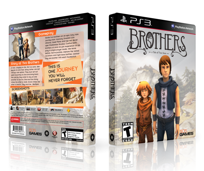 PlayStation 3 » Brothers: A Tale of Two Sons Box Cover