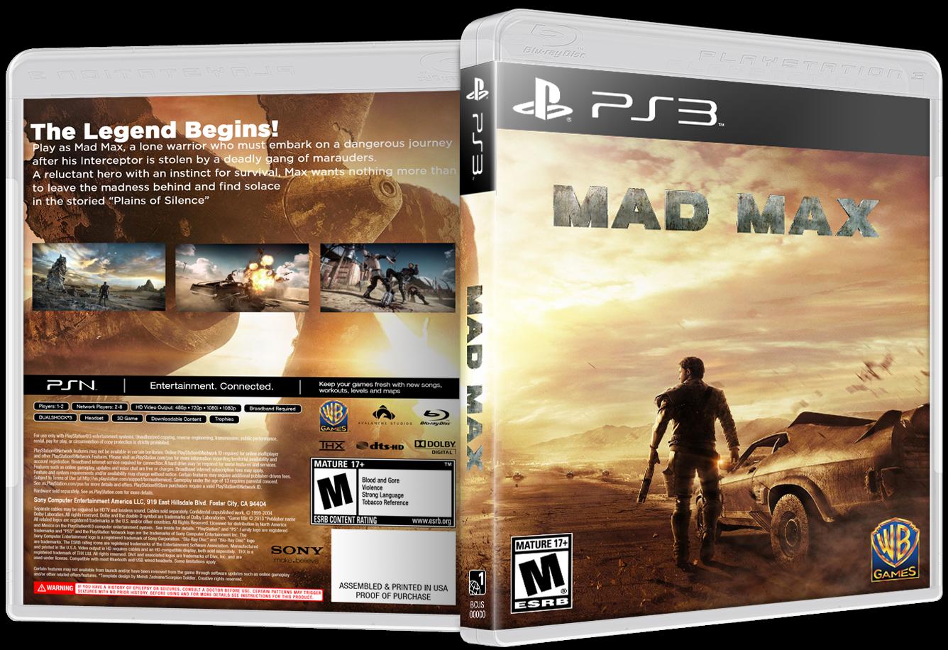 Mad Max Для Ps3 Торрент