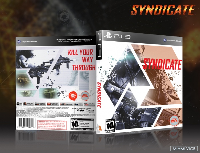PlayStation 3 » Syndicate Box Cover