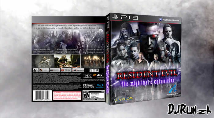 Resident Evil: The Nightmare Chronicles box art cover