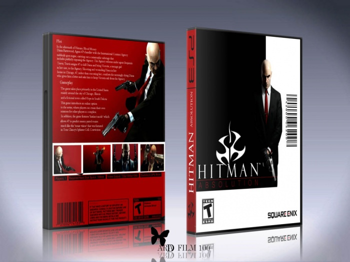 Hitman Absolution Fuse Box : Hitman absolution playstation box art cover by aradfilm