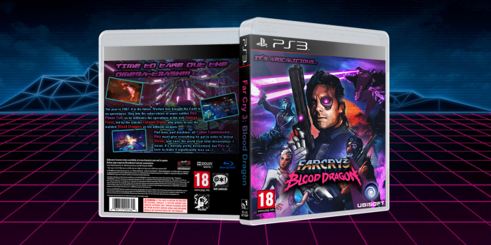 Far Cry 3: Blood Dragon box art cover