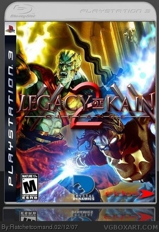 PlayStation 3 » Legacy of Kain: Defiance 2 Box Cover