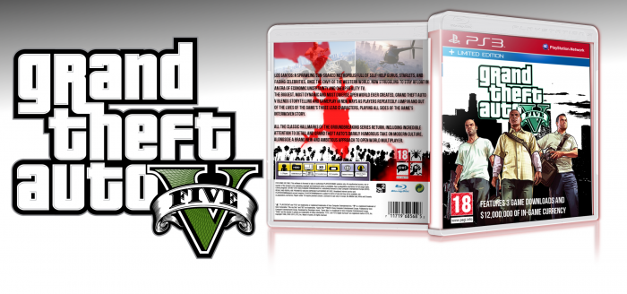 Grand Theft Auto V Limited Edition box art cover