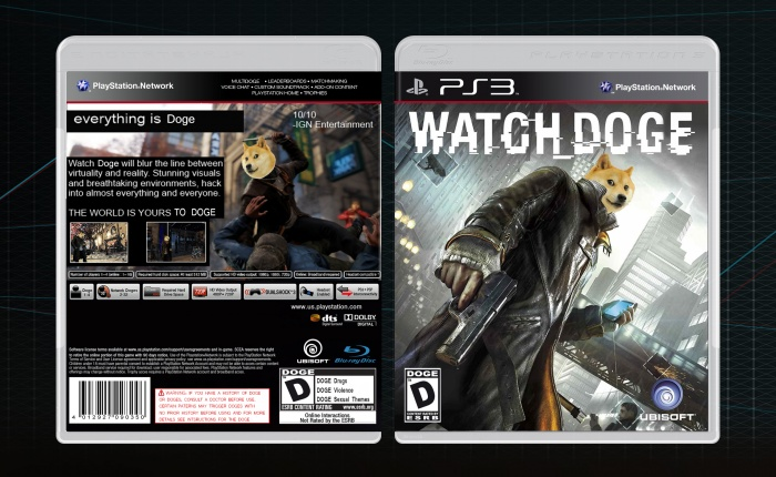 Watch Dogs Cover Ps