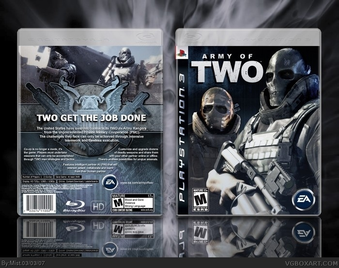 PlayStation 3 » Army Of Two Box Cover