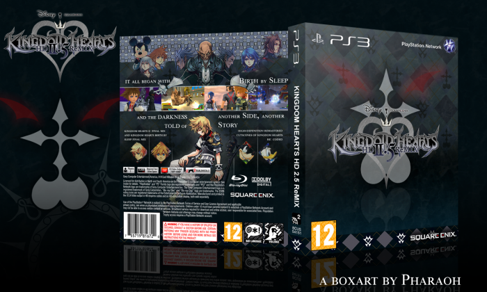 Kingdom Hearts HD 2 5 ReMIX PlayStation 3 Box Art Cover by