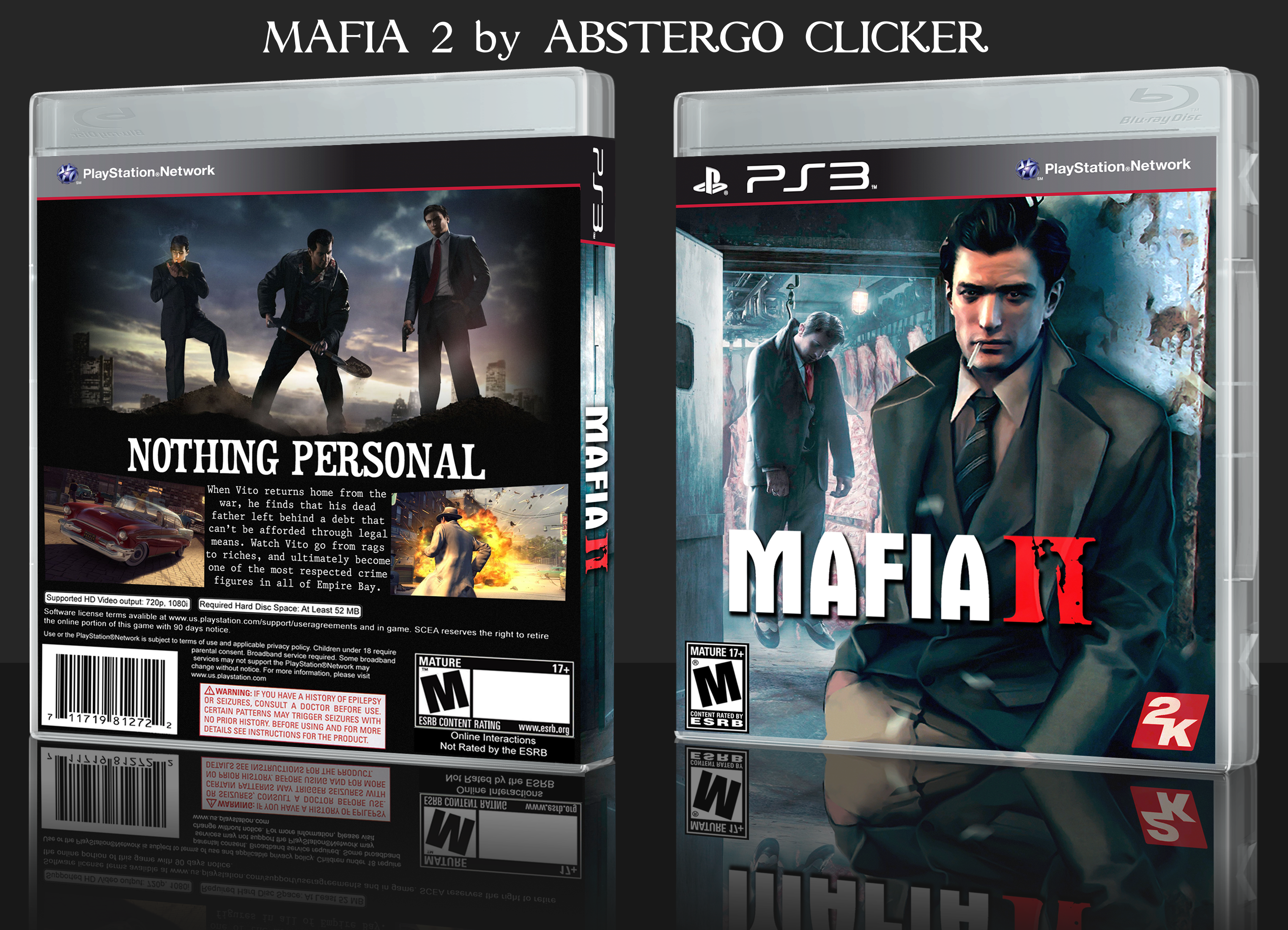 Mafia Games For Ps4 : Mafia playstation box art cover by abstergoclicker