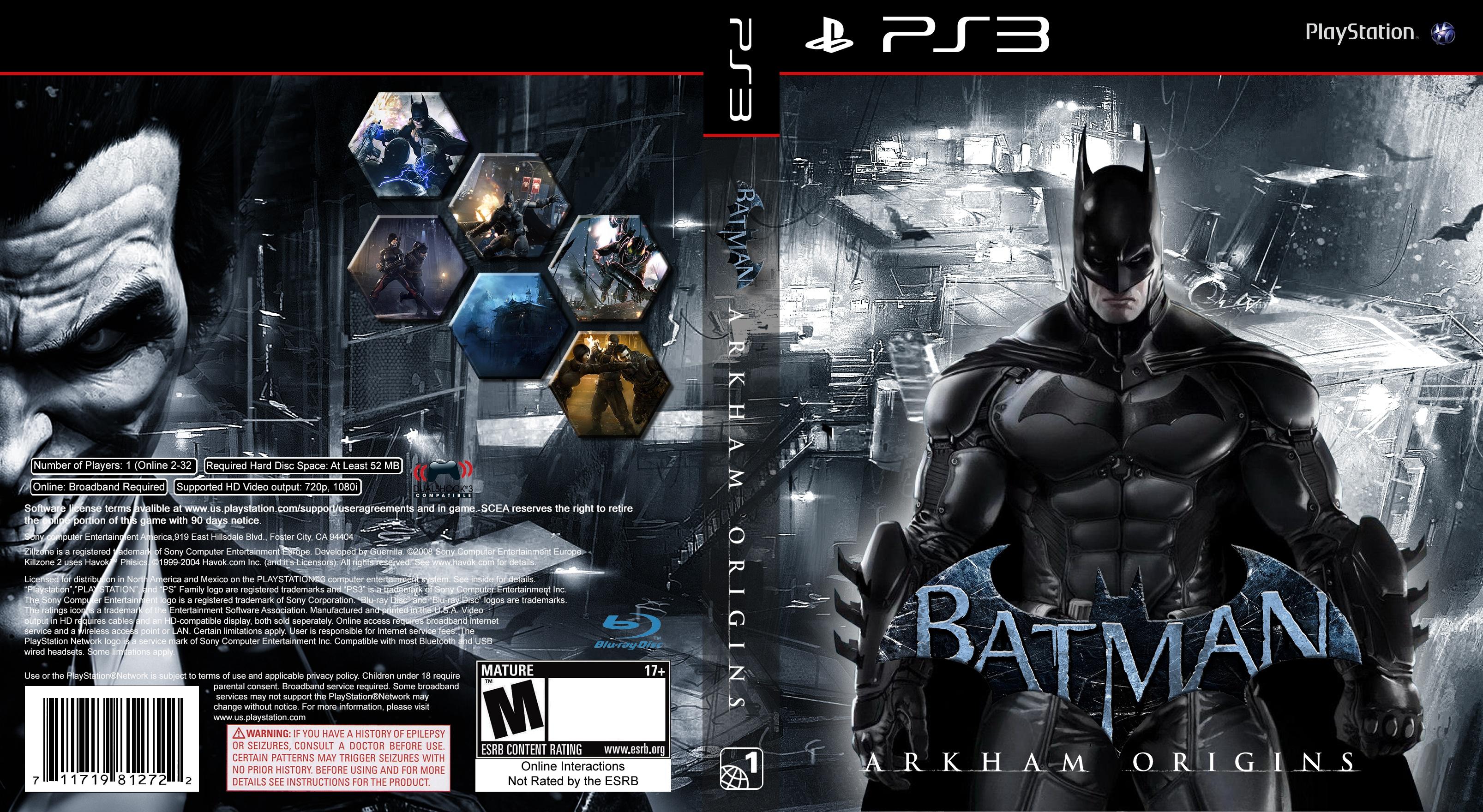 Batman Arkham Origins Cover Batman: Arkham Origins...